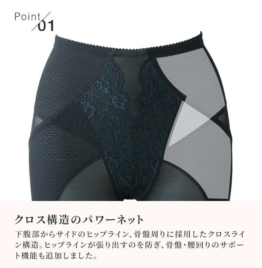 ロングガードル≪MDN≫ポッコリ下腹部・垂れ尻を解消、すっきり下半身を作り出す