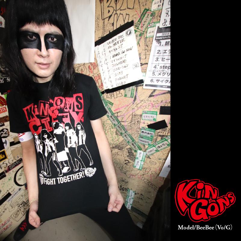栃木シティ KiNGONS CITY Tシャツ