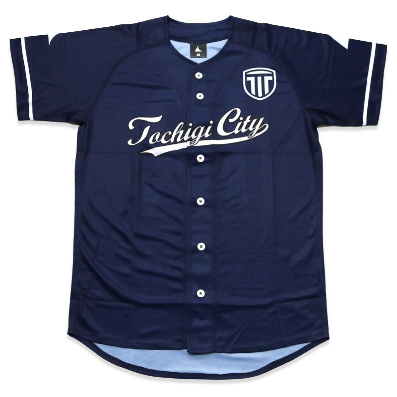 栃木シティ ベースボールシャツ