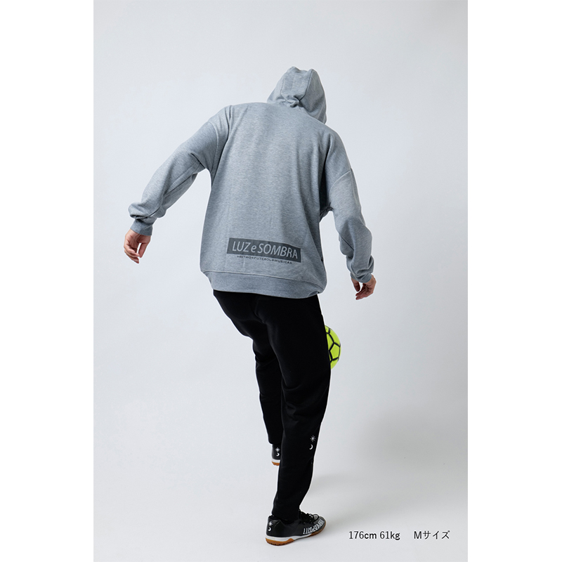 LUZ e SOMBRA P100 STRETCH SWEAT PULLOVER PARKA