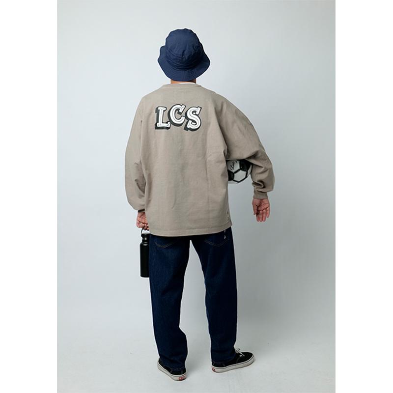LCS DOLMAN ONE PANEL HEAVY LONG T-SHIRT