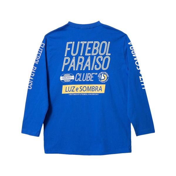 【SALE】LUZ e SOMBRA FUTEBOL PARAISO CLUBE LONG T-SHIRT