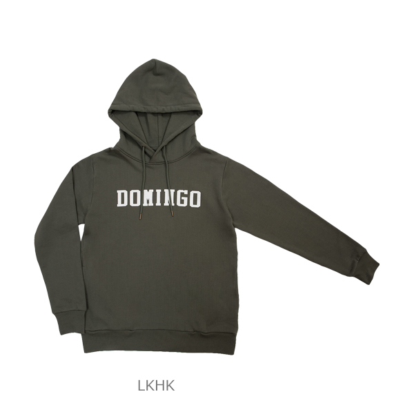 DOMINGO LOGO SWEAT PARKA