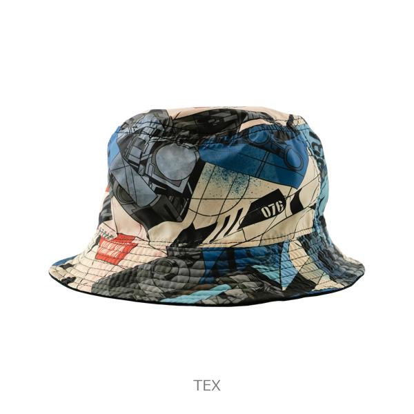 """LUZ e SOMBRA DR76 """"Dios"""" reversible hat"""