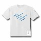 ALL CLEAR Tシャツ GRAPHIC WHITE