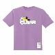 ALL CLEAR Tシャツ CLEAR PURPLE