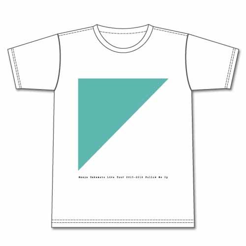 FOLLOW ME UP Tシャツ白