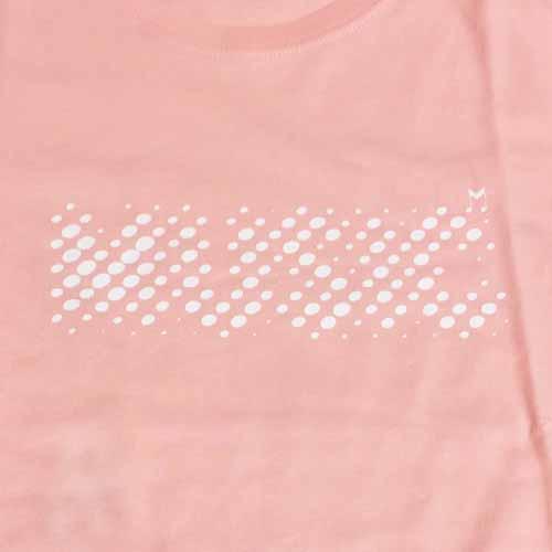 今日だけの音楽 Tシャツ ライトコーラル