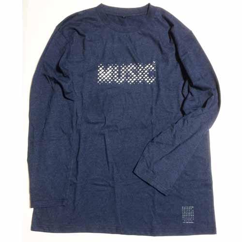 今日だけの音楽 ロングスリーブTシャツ