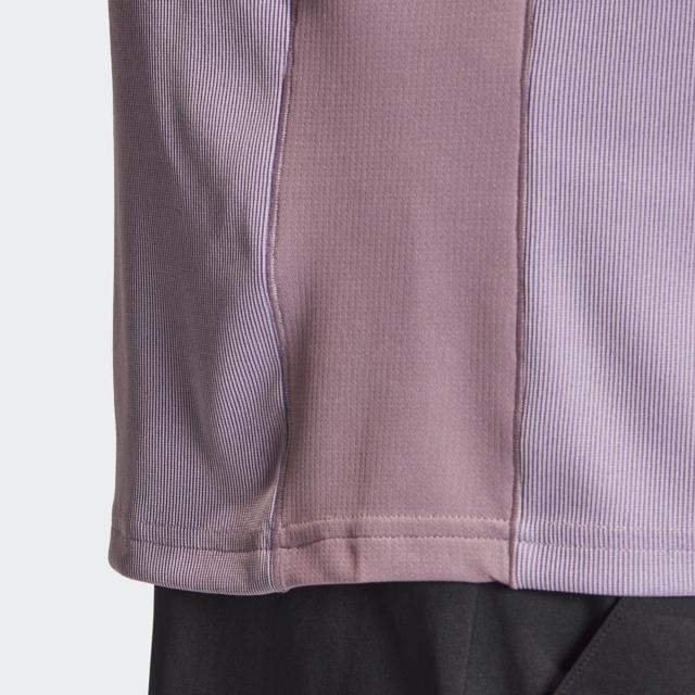 カラーブロック シャツ レガシーパープル