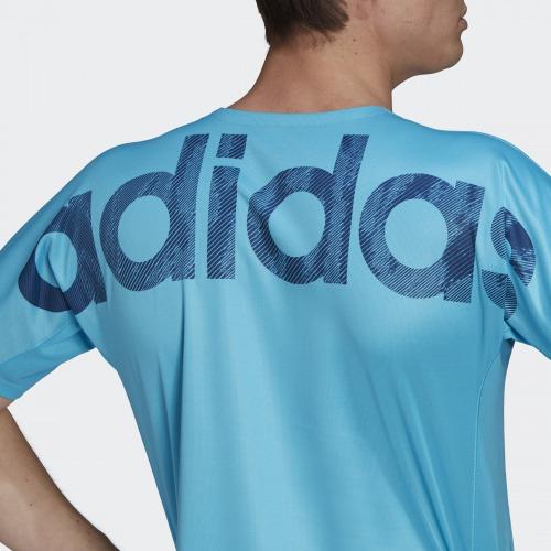 タグラインシャツ  シグナルシアン