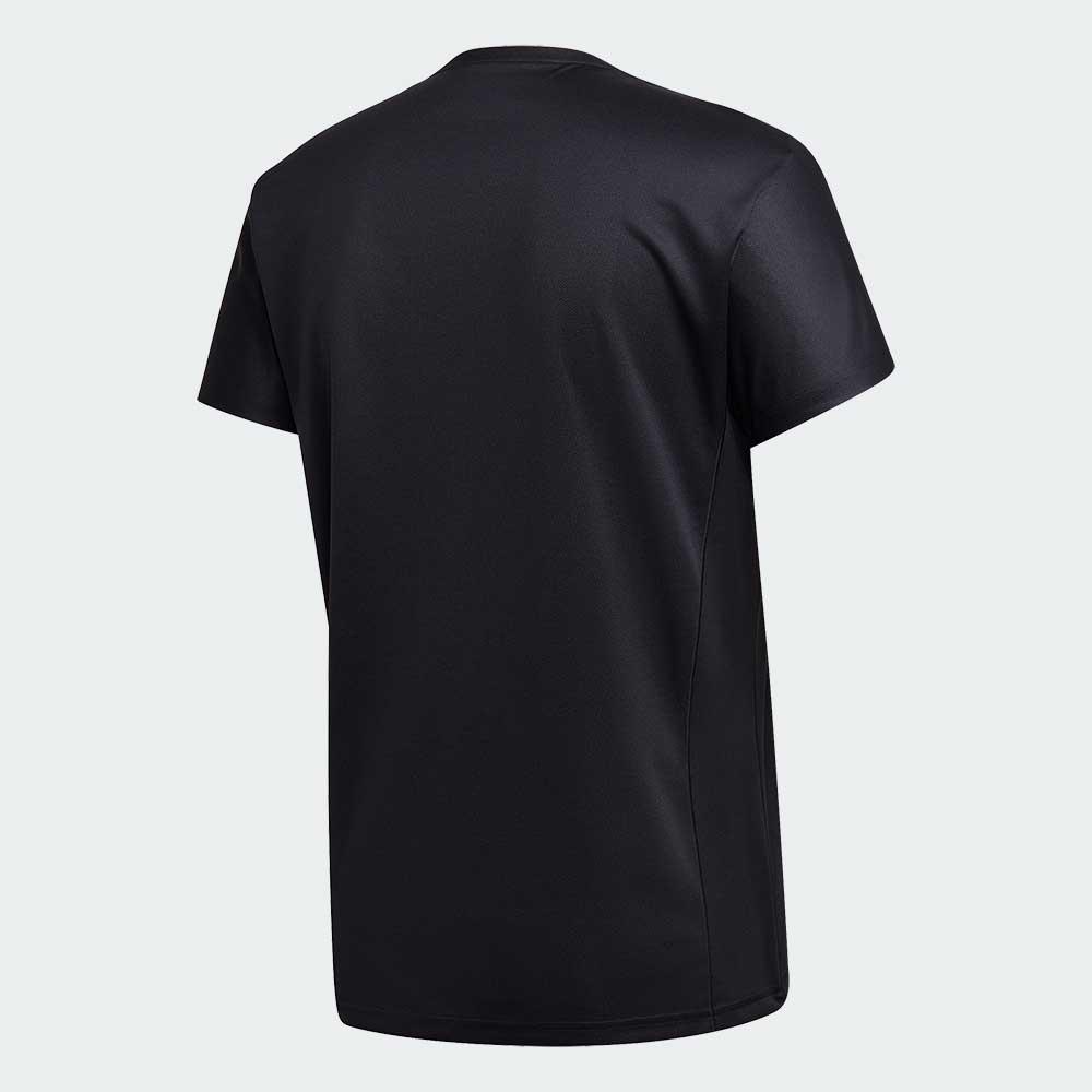 グラフィックシャツ ブラック アディダス バドミントン