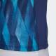 グラフィックシャツ1 レディース ネイビー アディダス バドミントン
