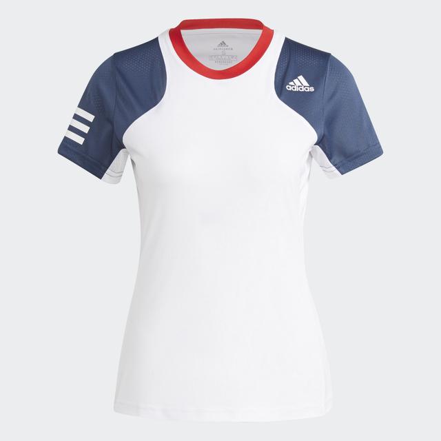 クラブシャツ レディース ホワイト