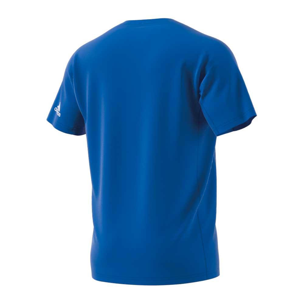 【ユニ】フロステッド シャツ ブルー アディダス バドミントン