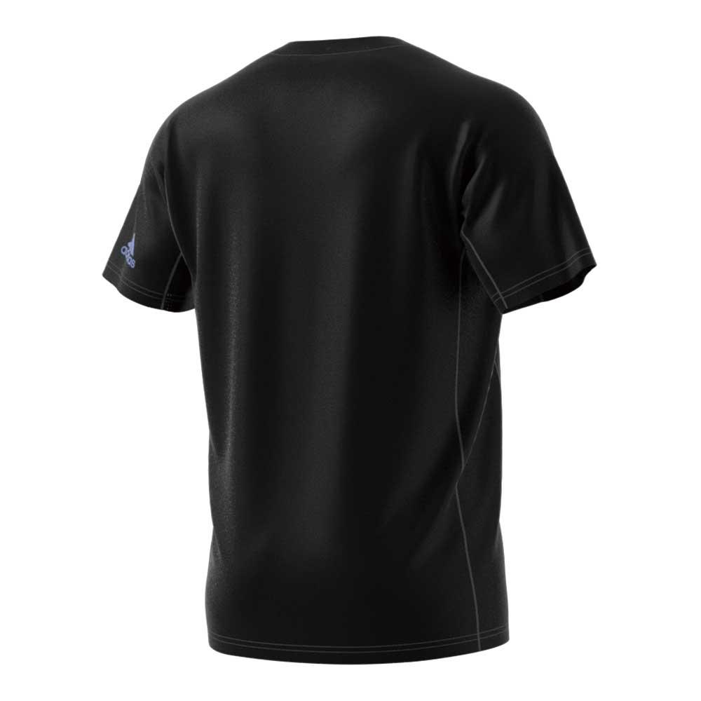 【ユニ】フロステッド シャツ ブラック アディダス バドミントン
