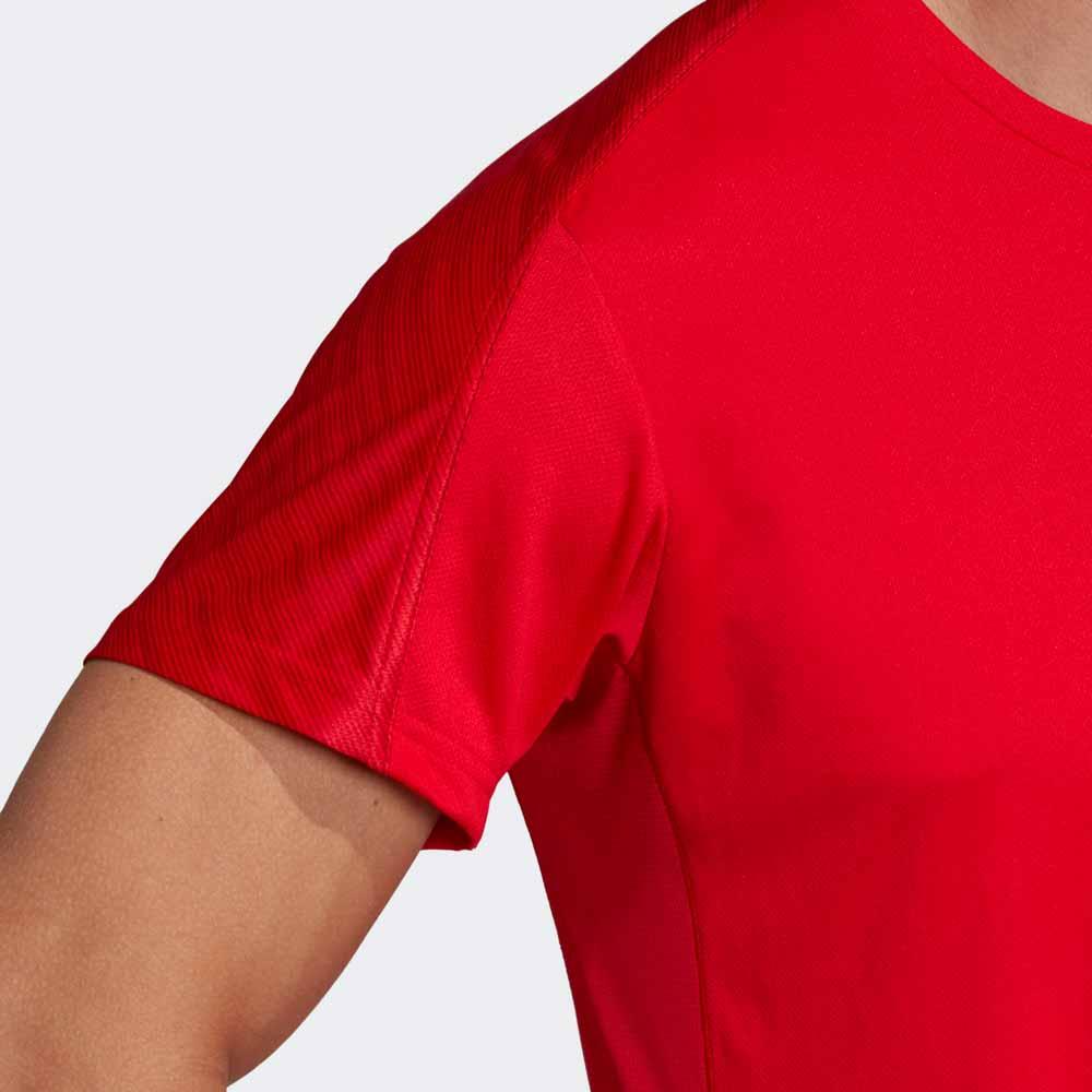 グラフィック シャツ スカーレット