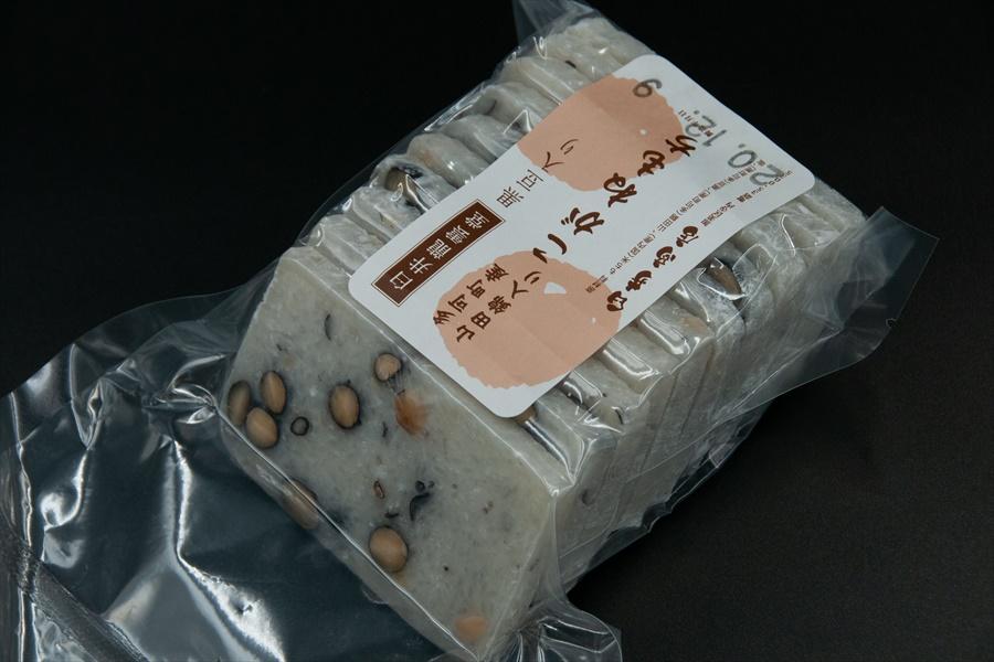 申龍雲堂がつくる酒米の王様「山田錦」入りのこがねもち【よもぎ入り】