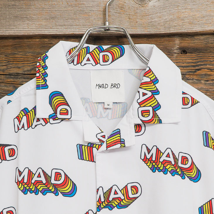MAD pattern SHIRT