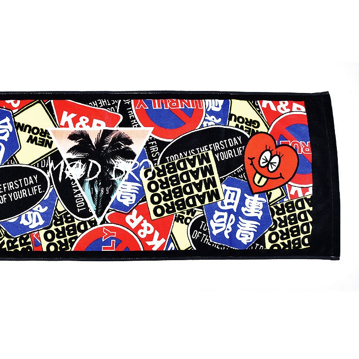 【限定入荷】Total pattern face towel