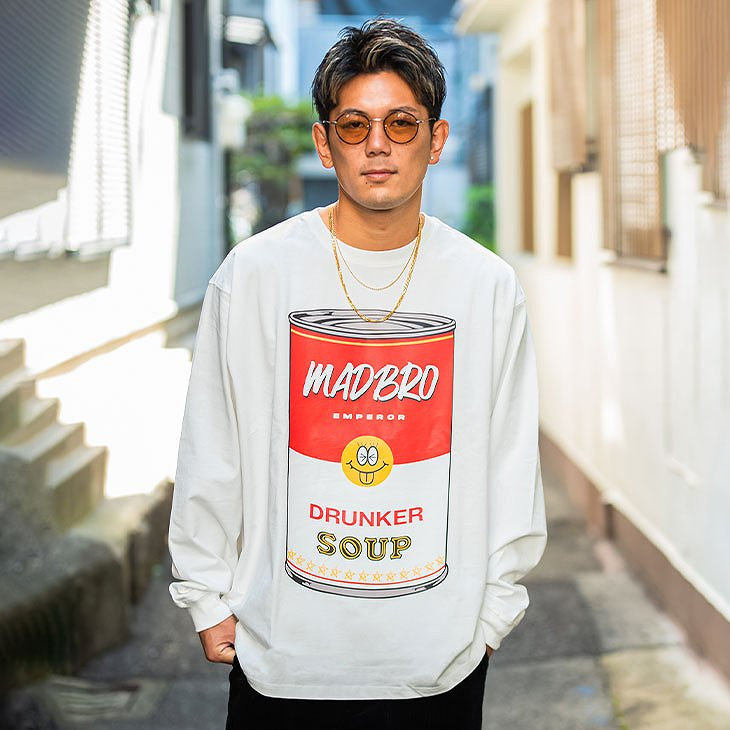 Drunker soup Long sleeve TEE