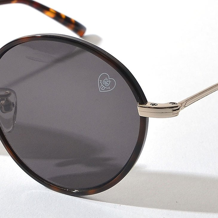Metal Boston Sunglasses