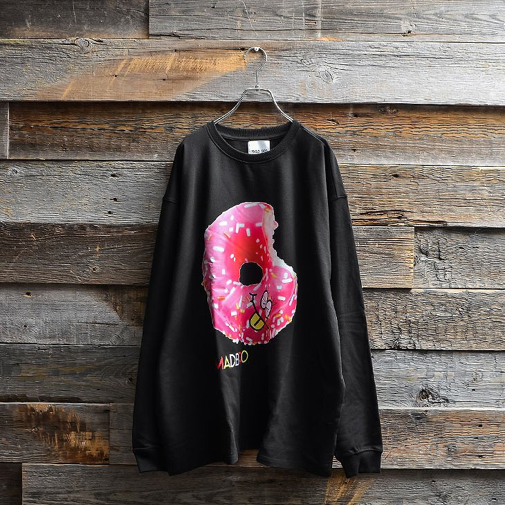 Biting donuts Sweatshirt
