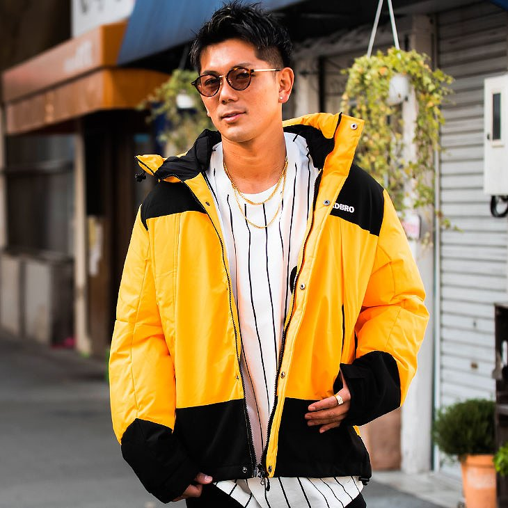Batting hooded Jacket