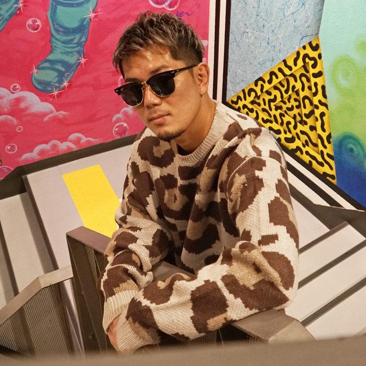 Leopard pattern Knit
