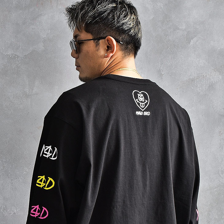3colorlogo Long Sleeve T-Shirt