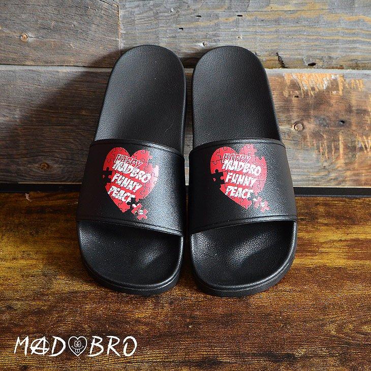 Heart Puzzle Sandals