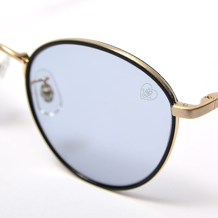 Metal Boston Sunglasses