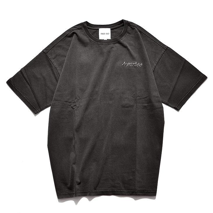 Surf logo paletone TEE (ブラック)