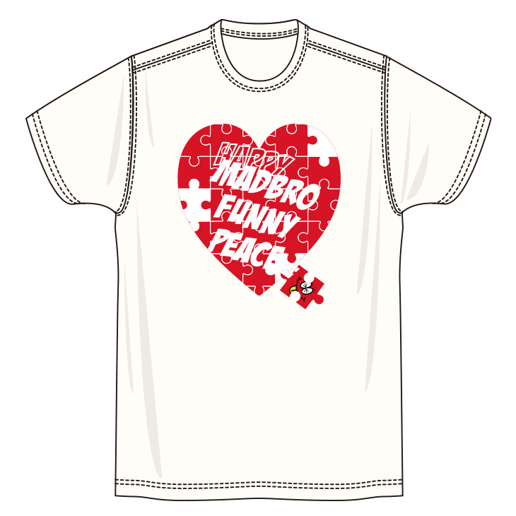 Puzzle Heart TEE