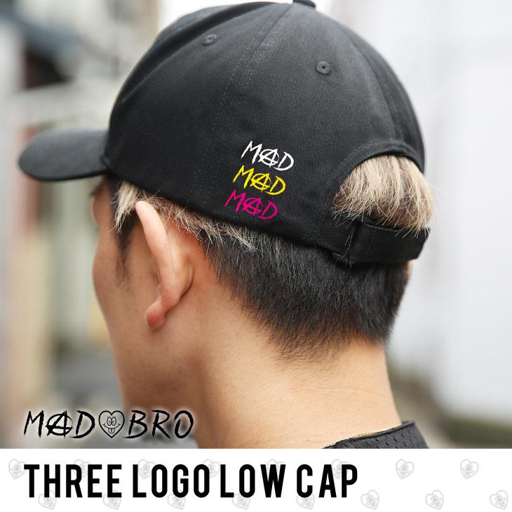 THREE Color Logo CAP