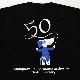 神奈川フィルハーモニー管弦楽団Tシャツ 50周年版