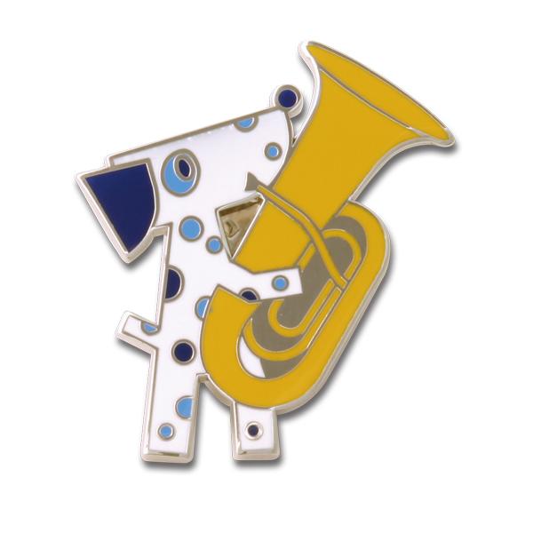神奈川フィルハーモニー管弦楽団 ピンズ チューバ