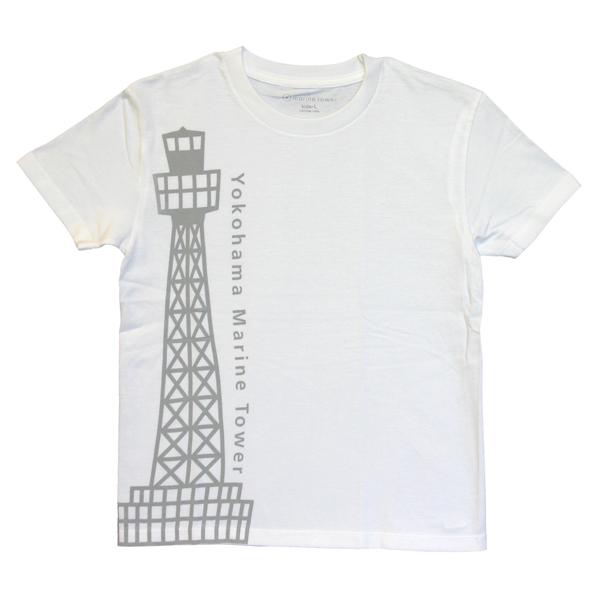 マリンタワー線画Tシャツ