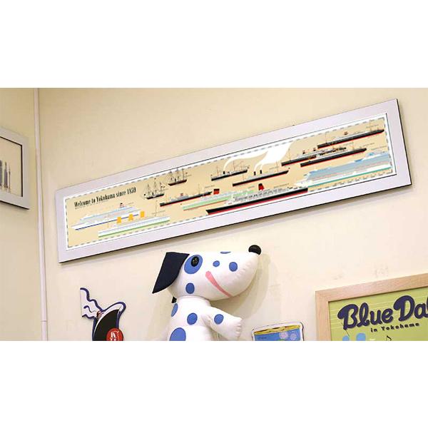 ポスター 「横浜をにぎわした船」