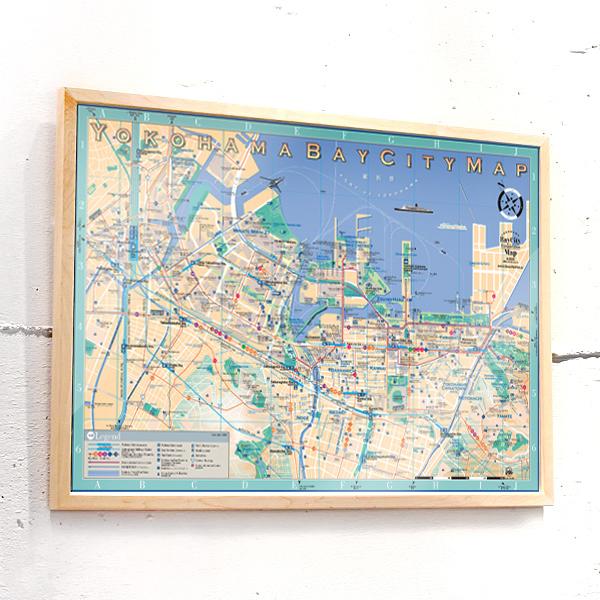 ポスター 横浜ベイシティマップ