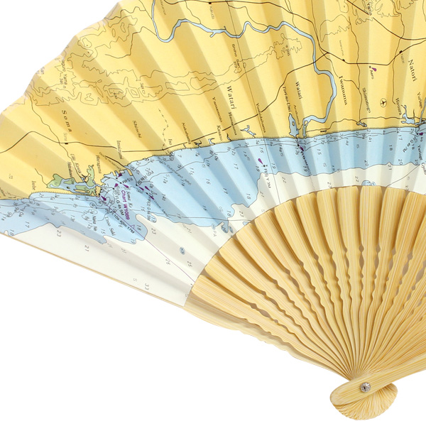 海図 扇子