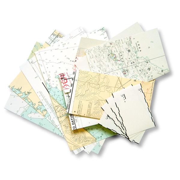 海図箱入り海図レターセット