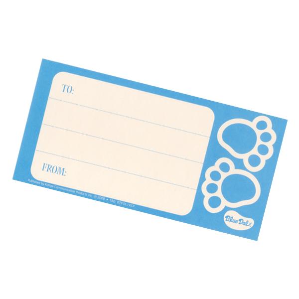ブルーダル グリーティングカード
