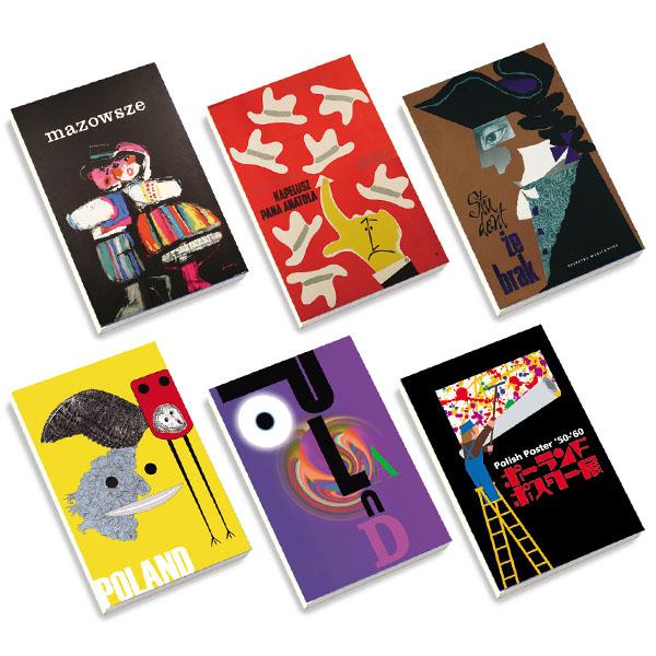 ポーランドポスター'50—'60展 メモブック6種セット