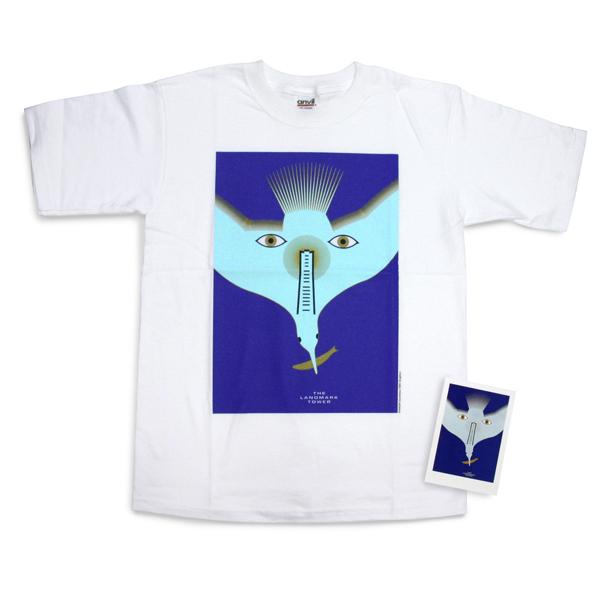 永井一正「横浜の顔」Tシャツ