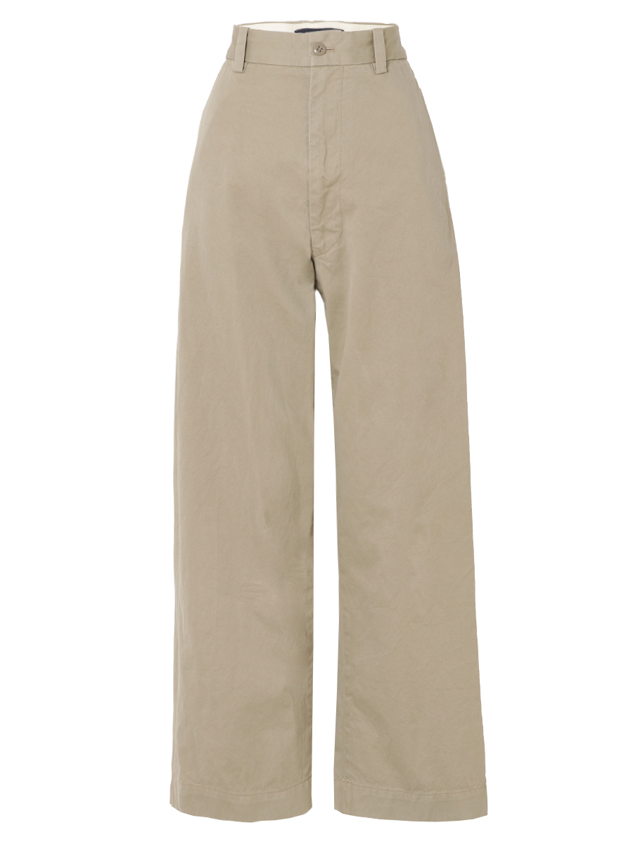 CHINO HIGH WAIST PANTS
