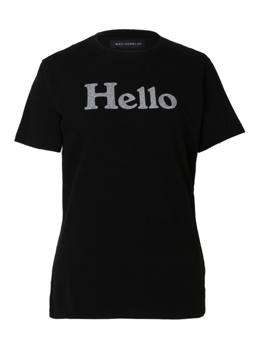 HELLO CREW NECK TEE