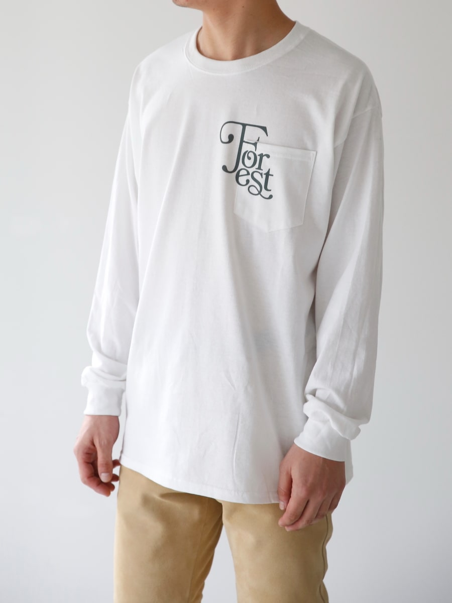 TYPOGRAPHY TEE FOREST