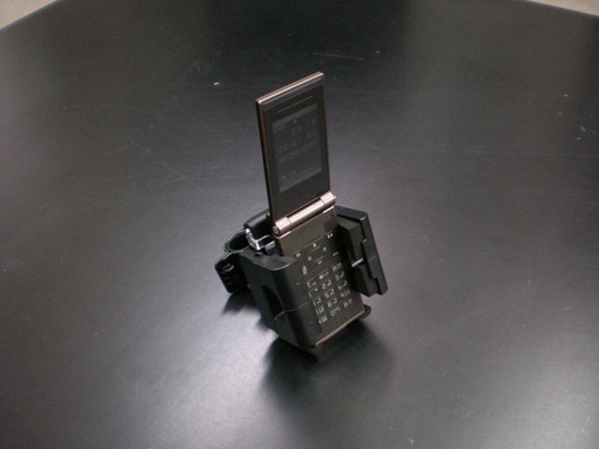 S-149◆汎用◆バイク用ハンドル携帯電話ホルダー