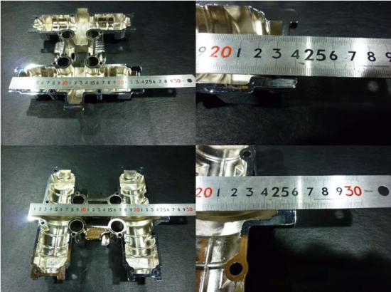 S-530◆GS400用◆メッキシリンダーヘッドカバー◆下部